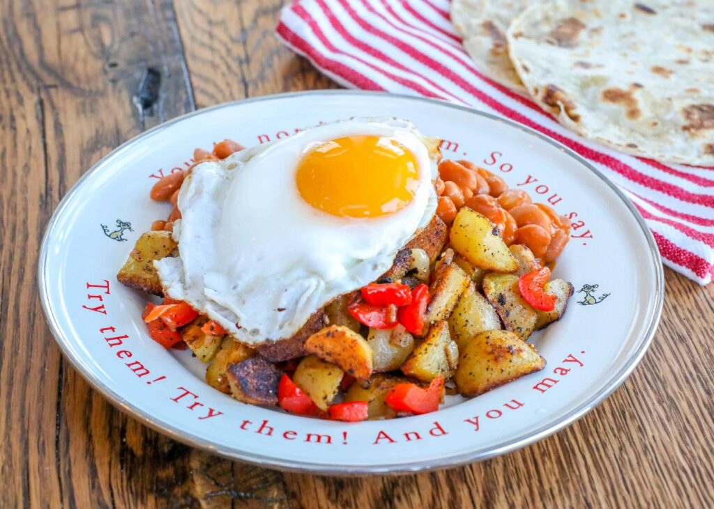 Huevos Rancheros is a breakfast favorite