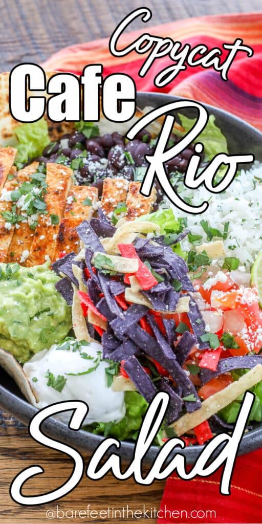 Copycat Cafe Rio Salad