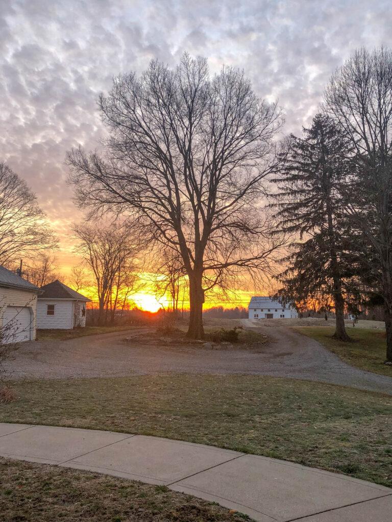 Ohio early sunrise