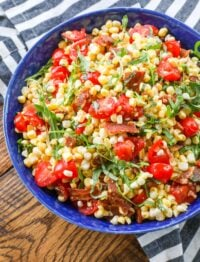 BLT Corn Salad is a guaranteed win for your summer barbecues.