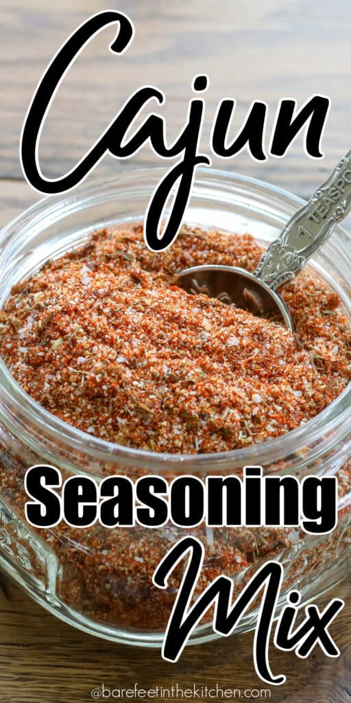 Homemade Cajun Seasoning Mix