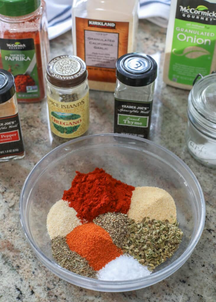 Homemade Cajun Seasoning is easy to make with everyday spices!