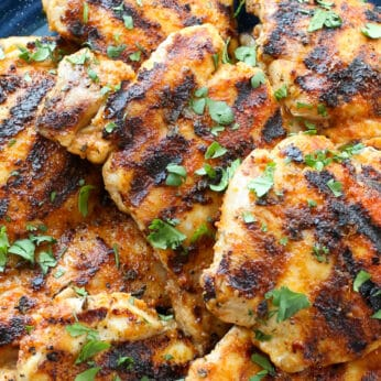 Juicy, flavorful chicken thighs, in just minutes!