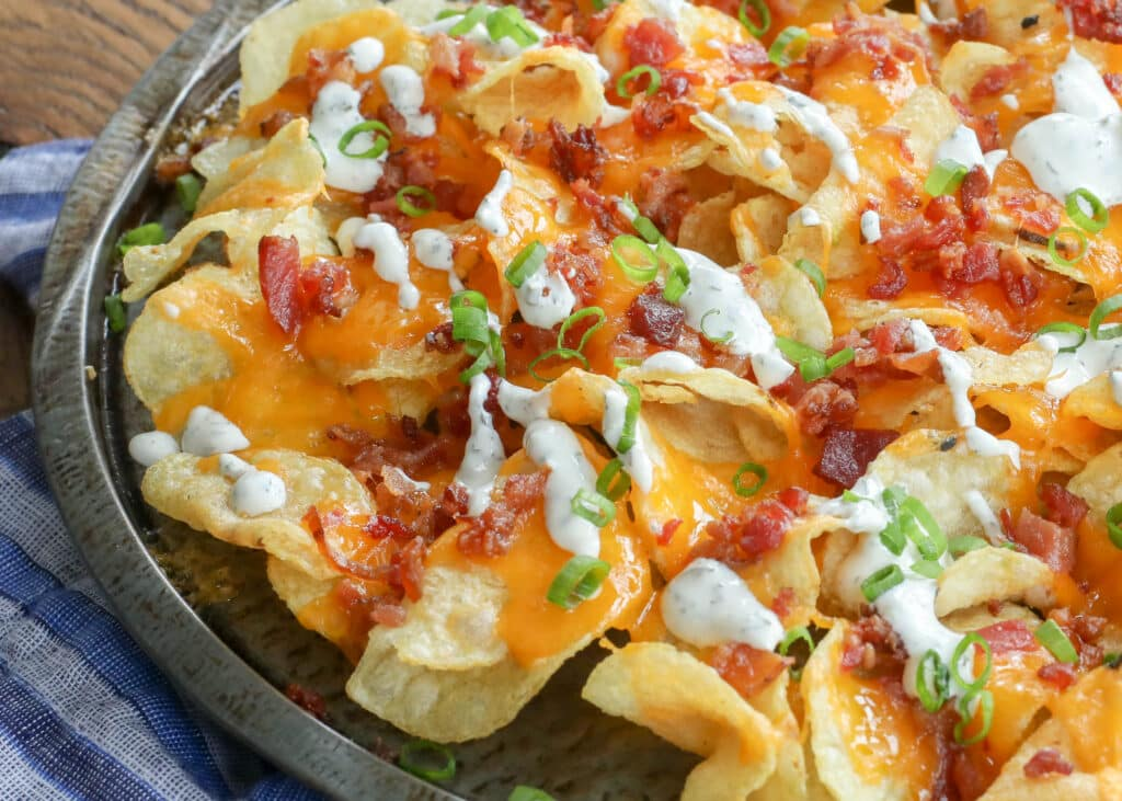 No one can resist these Potato Chip Nachos!