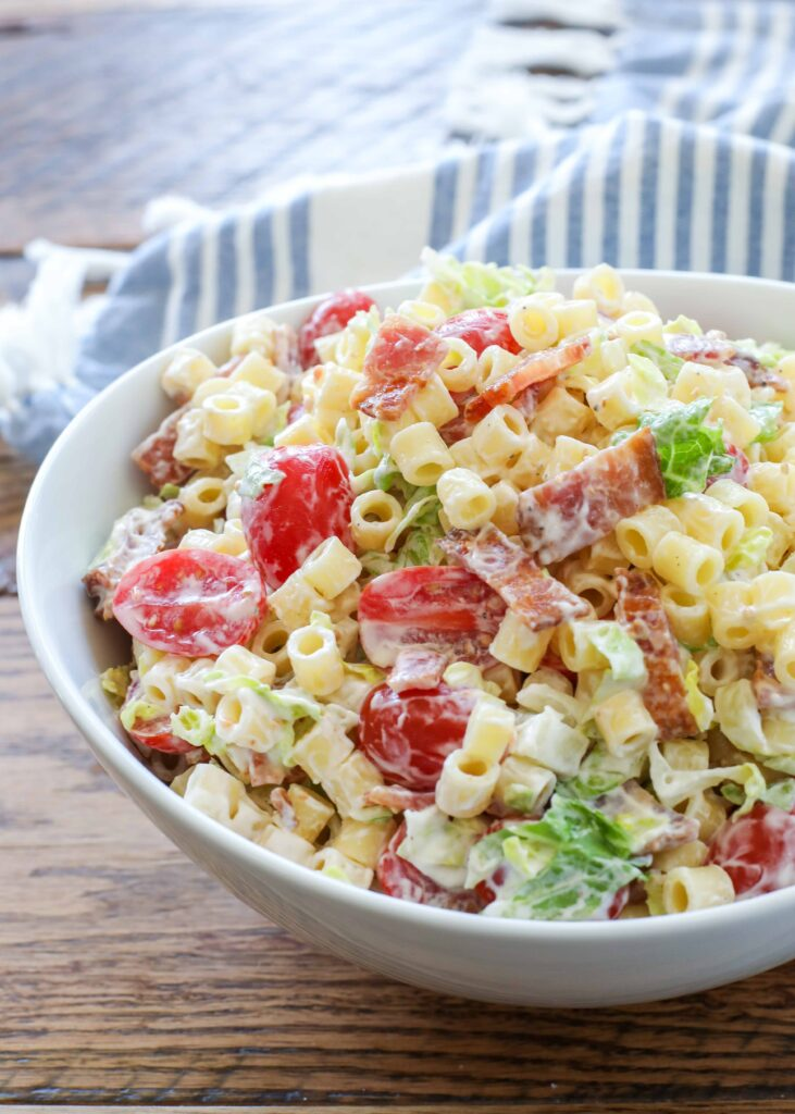 BLT Pasta Salad is a summer hit!