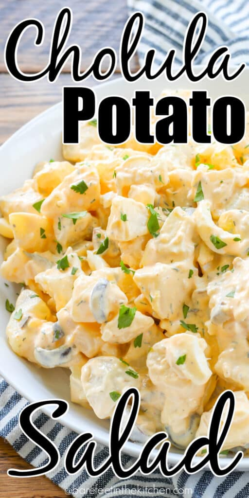 Spicy Potato Salad is a terrific way to kick up your summer dishes