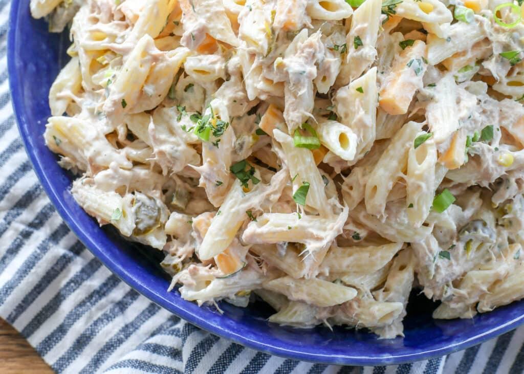 Jalapeno Tuna Pasta Salad
