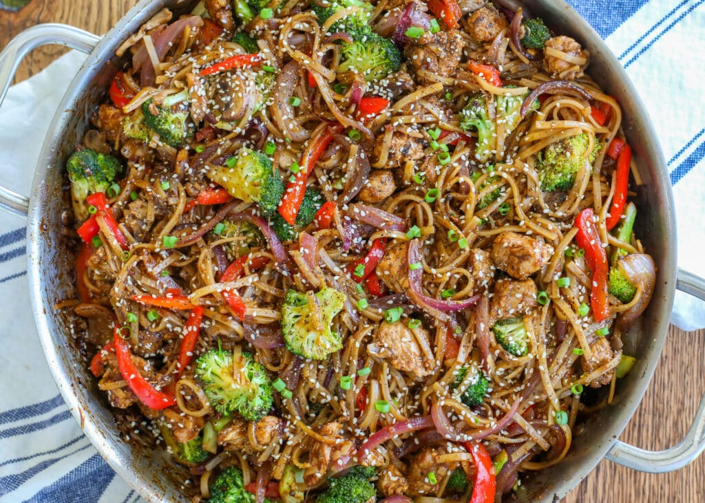 Pepper Pork Stir Fry recipe from The Well Plated Cookbook