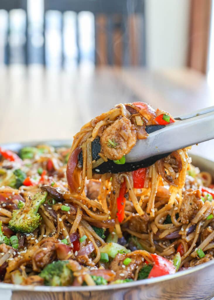 Plenty of pepper adds up to a delicious pork stir fry!