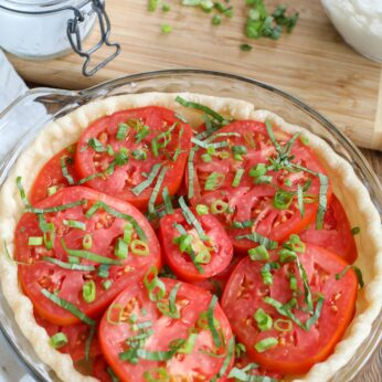 Southern Tomato Pie is a classic summer favorite.