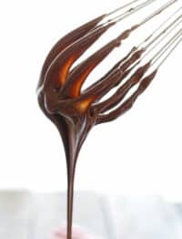 Creamy, Rich {2 Ingredient!} Hot Fudge Sauce