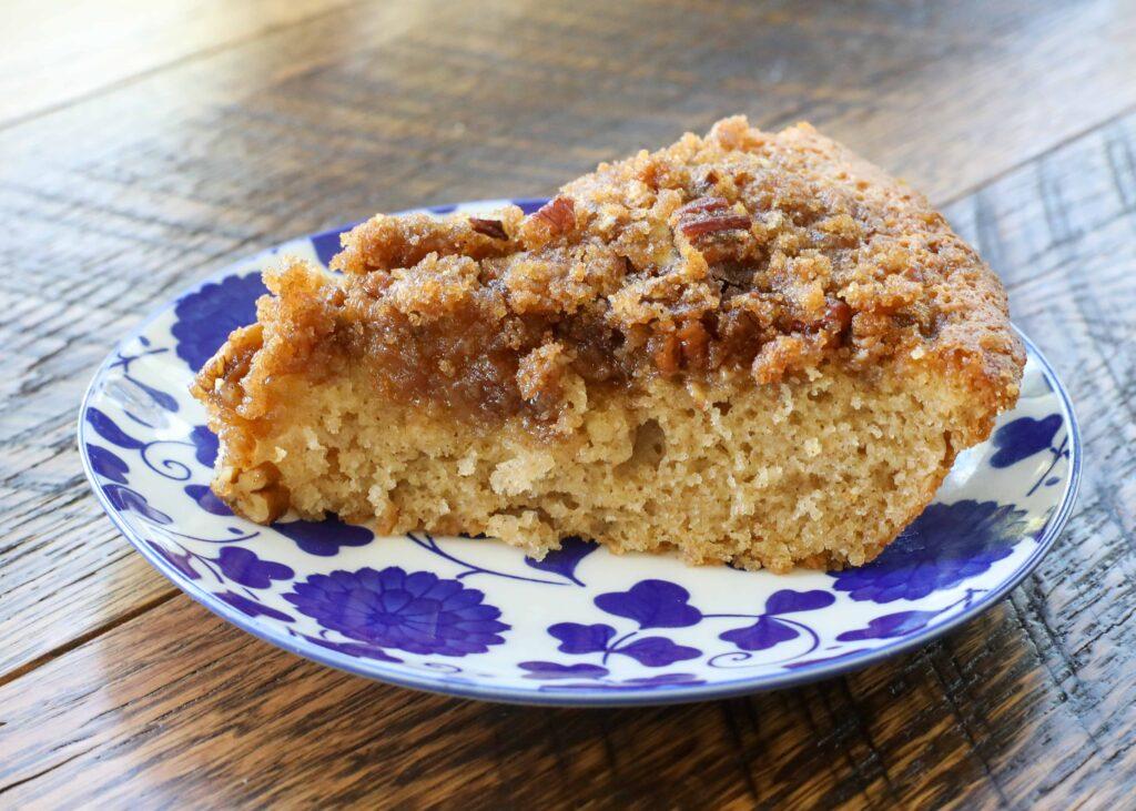 Cinnamon streusel topped Buttermilk Coffee Cake