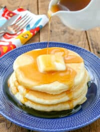Homemade Pancakes - they turn out light and fluffy every time!