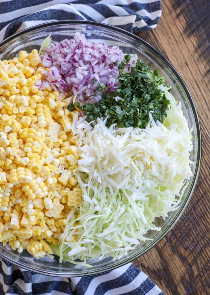 Street Corn Coleslaw