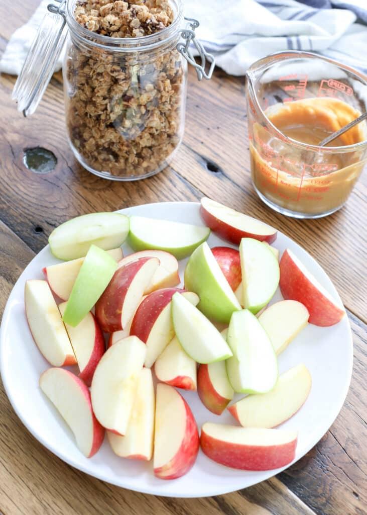 Easy Apple Nachos
