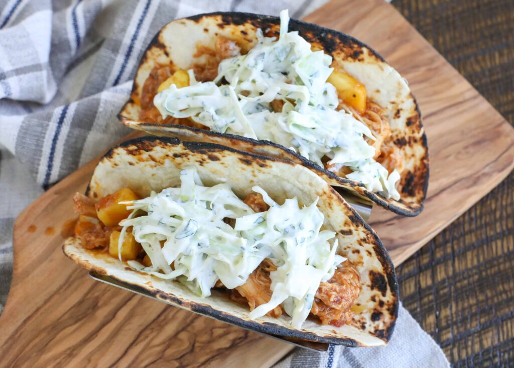Pineapple Chipotle Chicken Tacos are a hit.