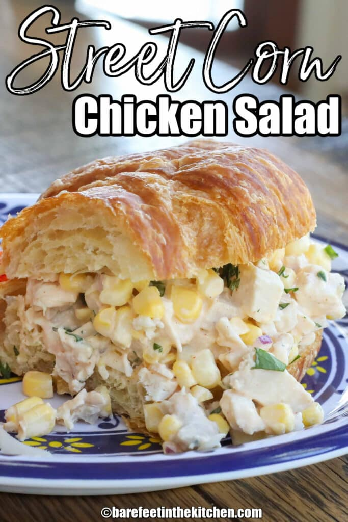 Street Corn Chicken Sandwiches
