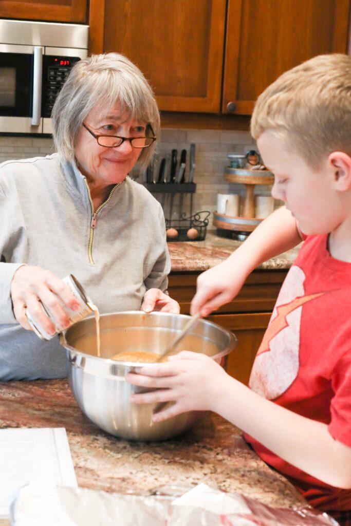 Pumpkin Pie Recipe with Grandma