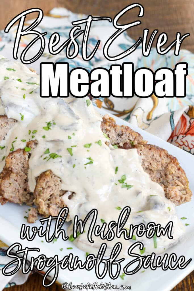 Best Ever Meatloaf with Stroganoff Sauce