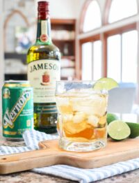 Jameson and Ginger Ale Cocktail