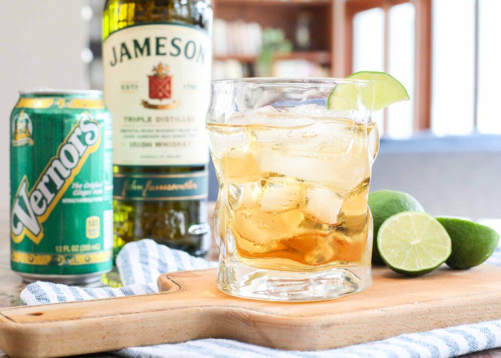Jameson, Ginger, and Lime