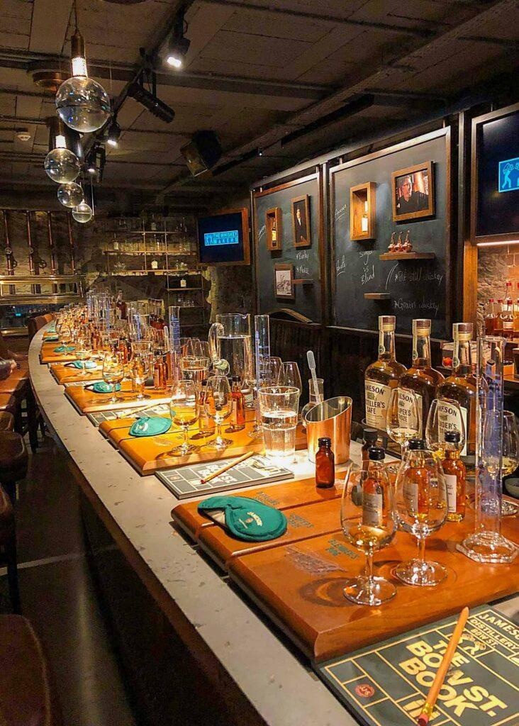 Jameson Whiskey Maker's Tour in Dublin, Ireland
