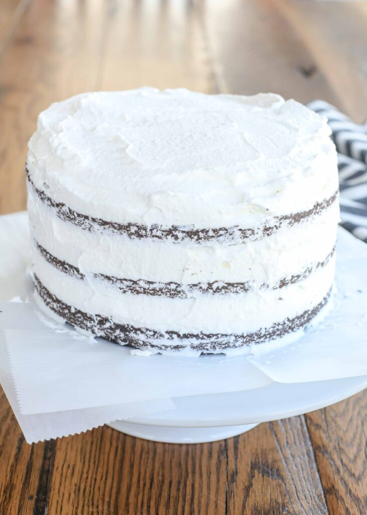 Black Forest Cake layer 7