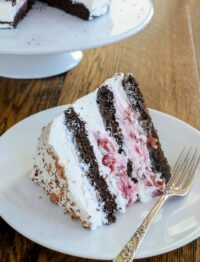 Black Forest Cake is a birthday favorite