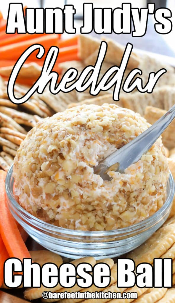 Aunt Judy's Cheese Ball