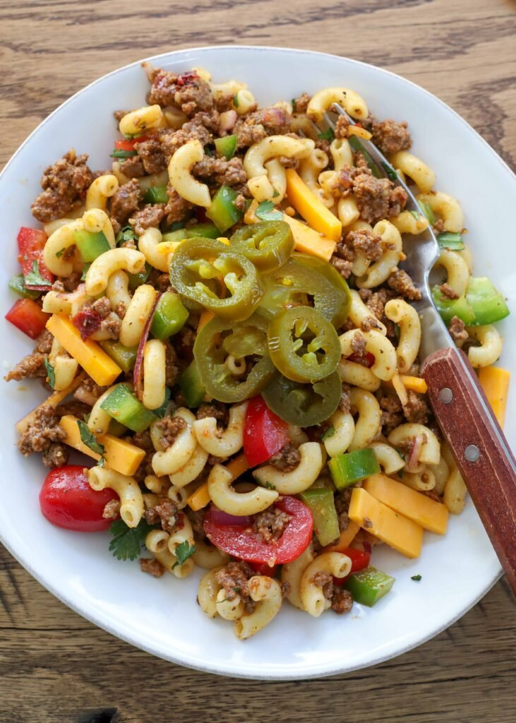 Spicy Cowboy Pasta Salad
