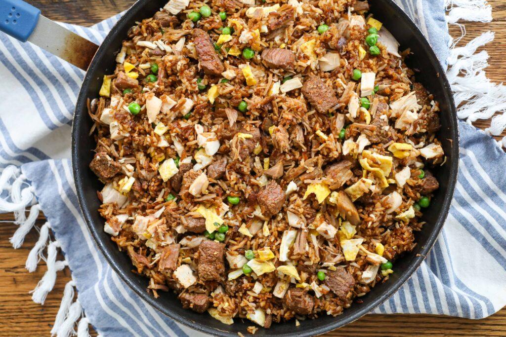 Meat Fried Rice Recipe