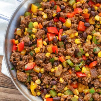 Vegetable Lover's Taco Beef is perfect for tacos, salads, burritos and more