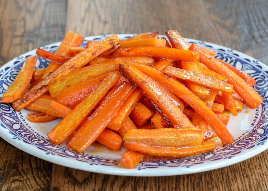 Garlic Butter Roasted Carrots - recipe from The Ultimate Vegetable Side Dishes Cookbook