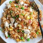 Bacon Fried Rice with Chicken and Egg is practically perfect is every way.