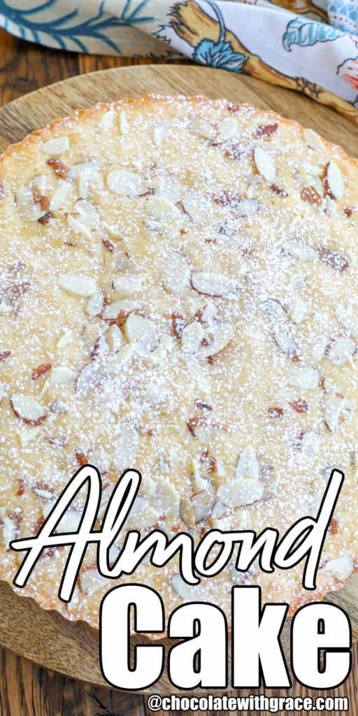Tender, buttery Almond Cake