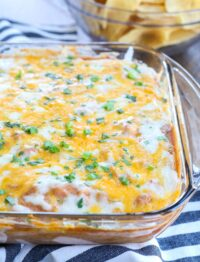 Hot Bean Dip is a meal in itself!